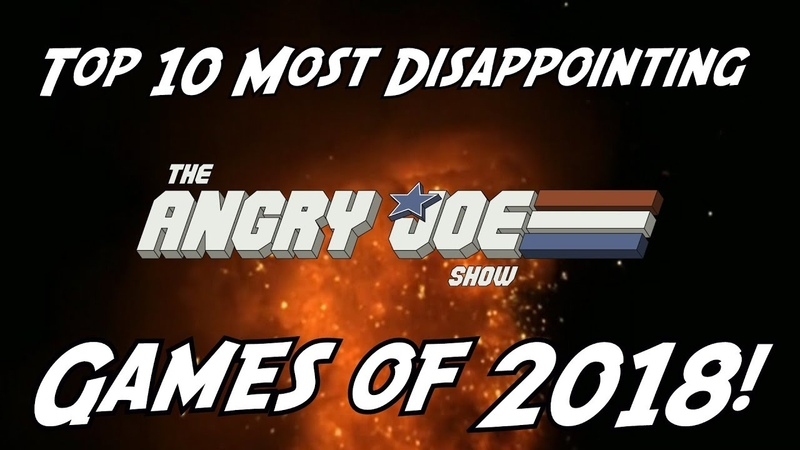 Top 10 Most Disappointing Games of 2018 Angry Joe