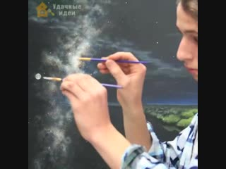 Невероятно крутой художник