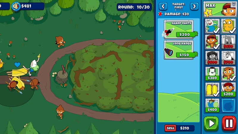 Bloons Adventure Time TD Iphone/Ipad/Android Gameplay 1080p 19