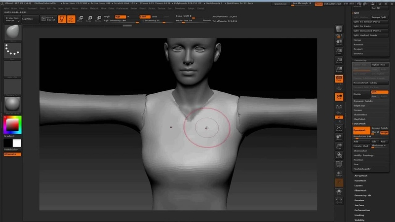 Character Creator Master Series - Pirate Creation Part 3 Modeling 3D Clothes in ZBrush Blender