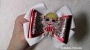 Бантики из кожзама с куколкой Лол bows Lol DIY