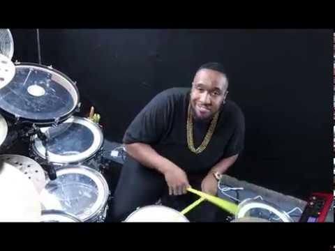 "Janet Jackson "" Control "" Remix Drum Cover Eric Moore"