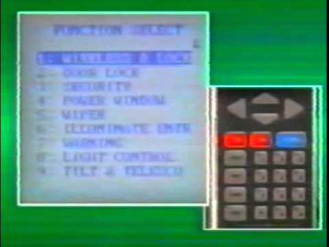 TOYOTA CBES Система настройки электронных компонентов