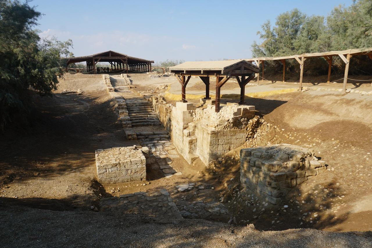 Настоящее место крещение Иисуса Христа
