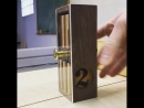 Perpetual Flip Calendar by Measured Workshop Different_things@industrial.design