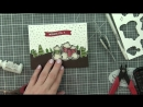 Lawn Fawn _ Winter Skies Mini Pop Up Box Christmas Card