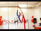 Илюнина Полина, Воздушная гимнастка на полотнах