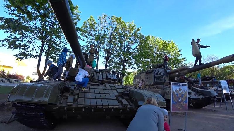 Vlog: 9 Мая в Калининградской области. Как провели выходные. Прогулка по городу Гусеву.