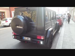 Mercedes-Benz Brabus G-Class 63 AMG B63-620 Edition 463 Accelerates In Munich! U