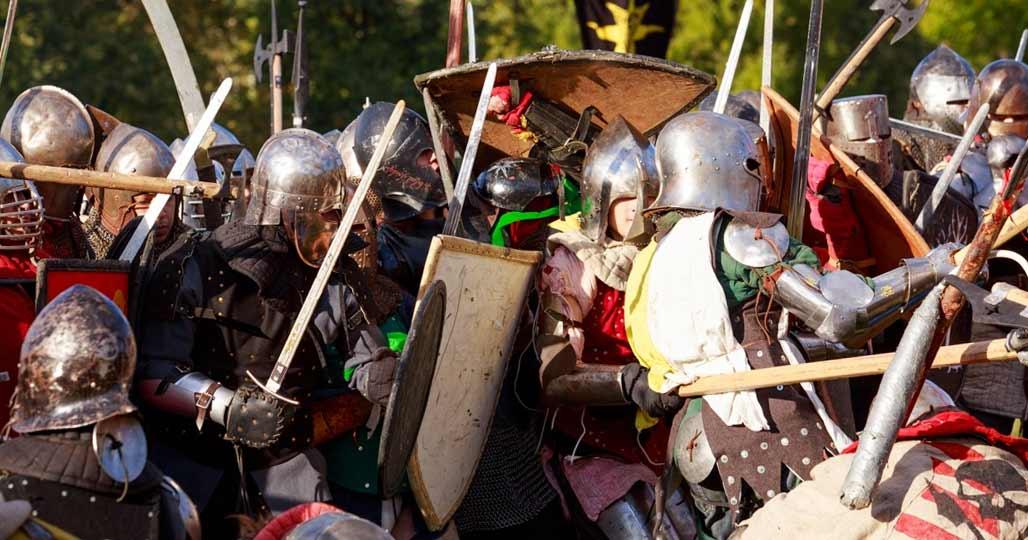 Бой рыцарей сегодня