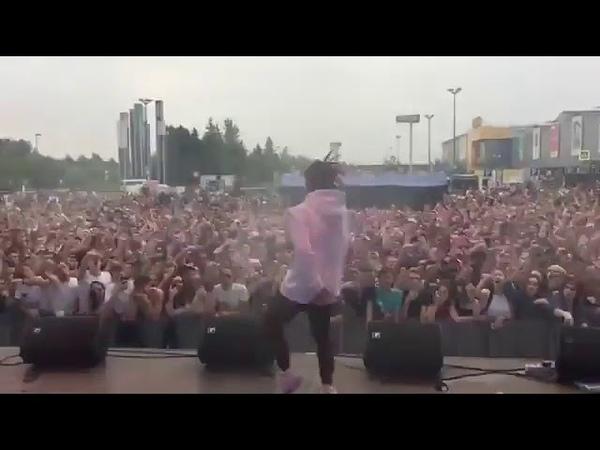 GONE Fludd МАМБЛ Крутое выступление на фестивале в Уфе
