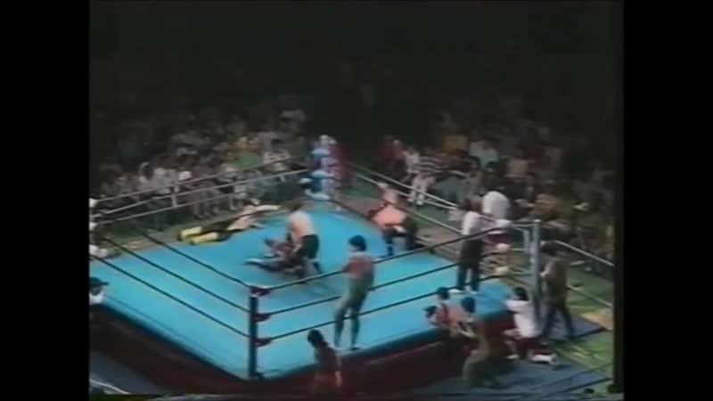 1995.07.08 - Mitsuharu Misawa/Kenta Kobashi/Jun Akiyama vs. Toshiaki Kawada/Tsuyoshi Kikuchi/Yoshinari Ogawa [JIP]