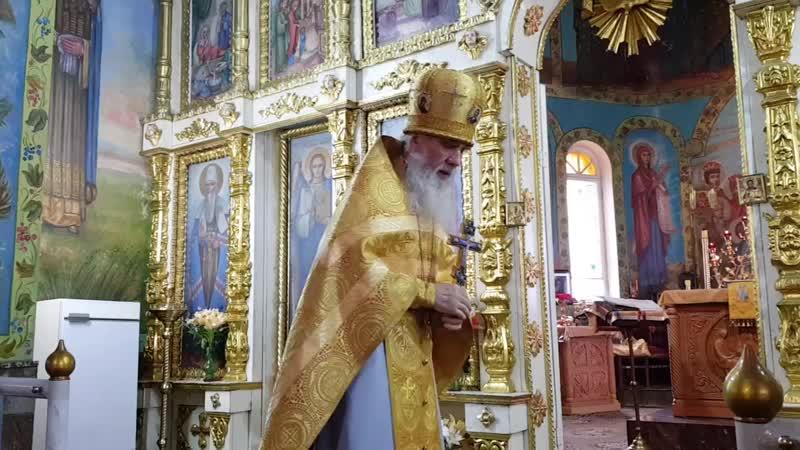 Проповедь на Неделю 7-ю по Пятидесятнице (Два слепца)(23.07.2017)