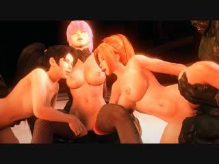FOW-016 Kunoichi 3 - Dark Butterfly [UNCEN] (3D Хентай,hentai, бдсм,bdsm, rape,изнасилование, Gangbang)