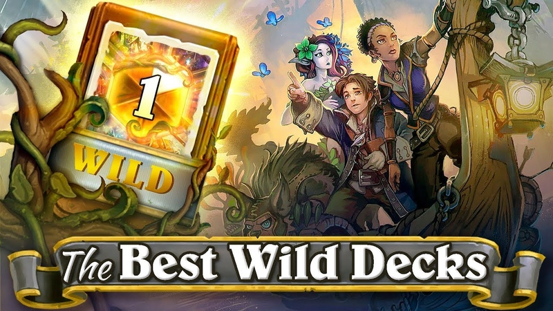 Back To Wild! The Best Wild Hearthstone Decks for Laddering for Every Class: Deck With 71% Win Rate.