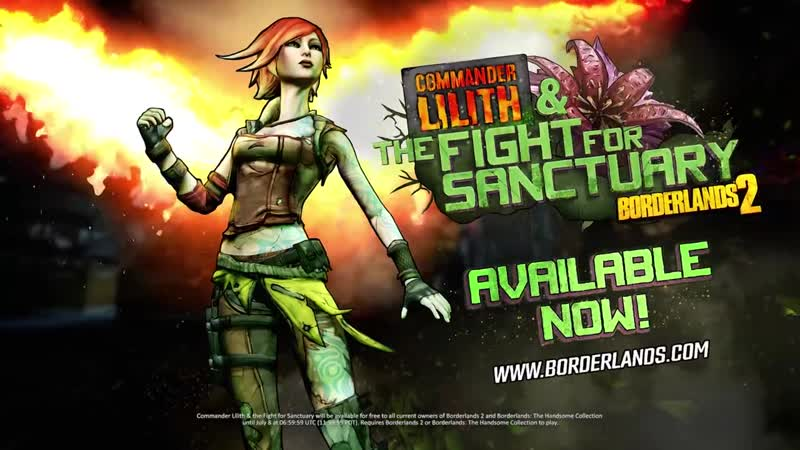 Активируйте пролог к Borderlands 3 - Commander Lilith the Fight for Sanctuary в игре Borderlands 2!