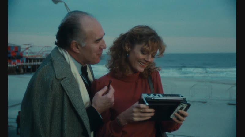 Атлантик-сити (Франция, 1980) HD1080, детектив, Берт Ланкастер, Сьюзен Сарандон, Мишель Пикколи, реж. Луи Маль, советский дубляж