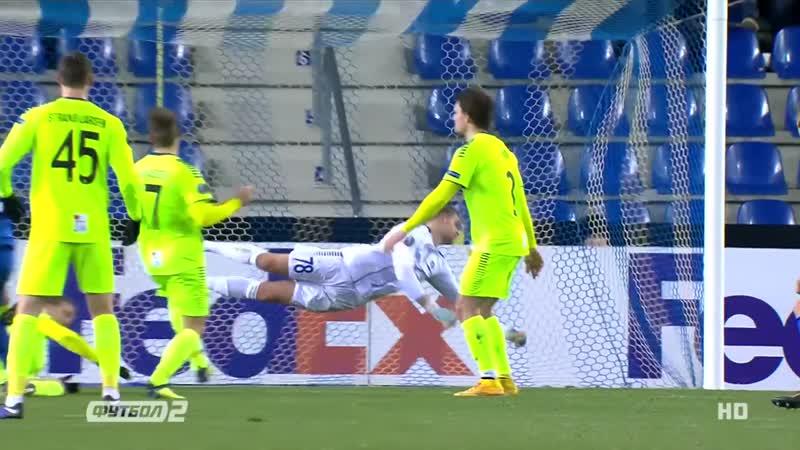 Малиновский отдал голевую передачу в матче Лиги Европы