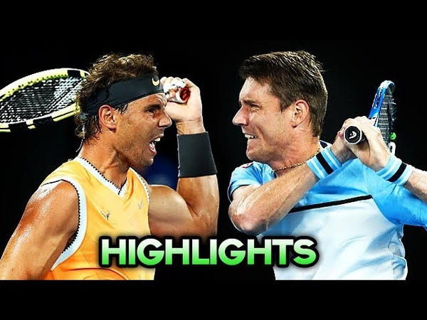 Nadal vs Ebden ● Australian Open 2019 R2 (Highlights)