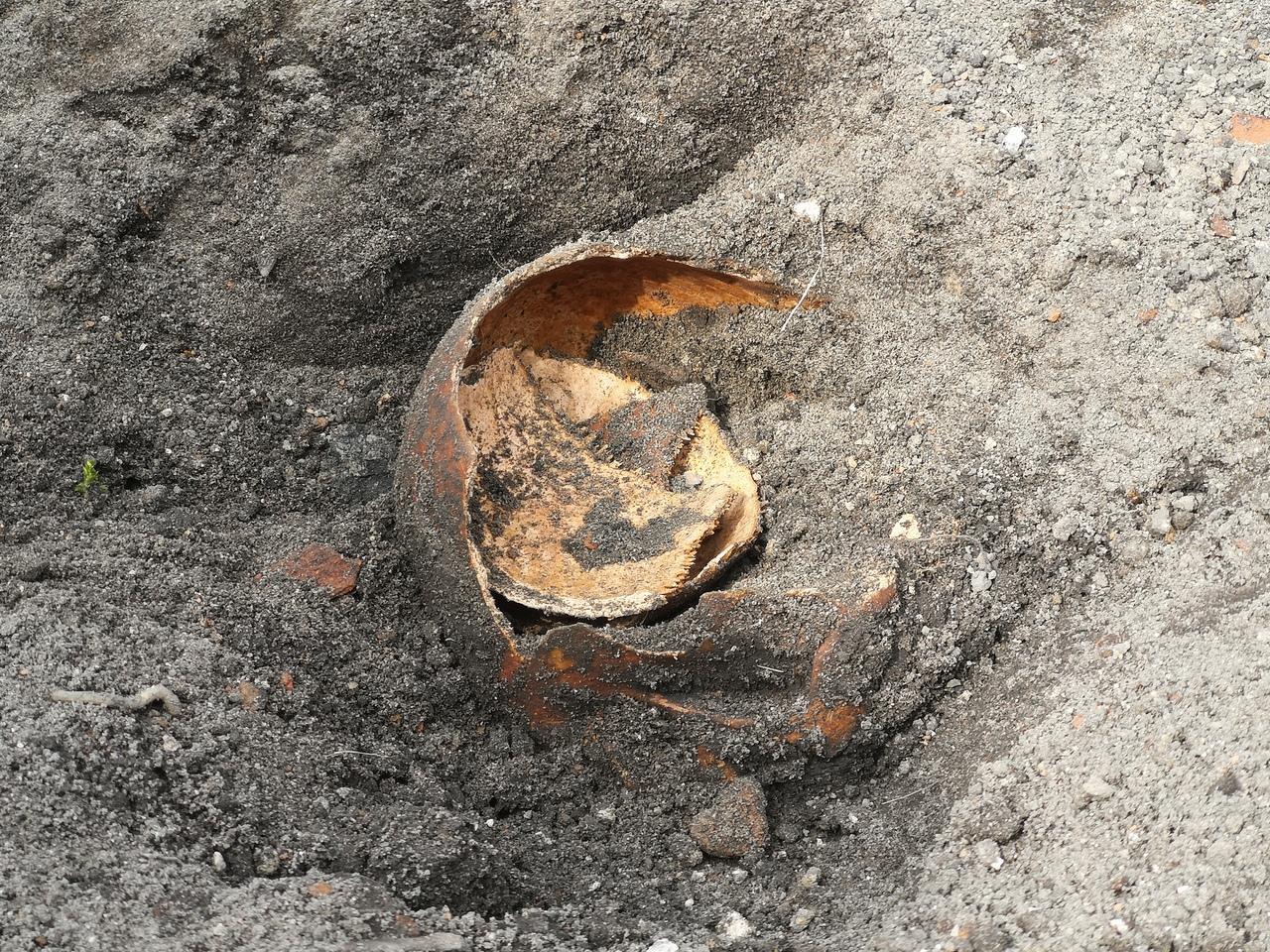 В районе здания Белого дворца были обнаружены останки ребёнка