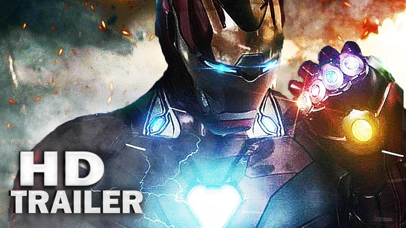 AVENGERS 4: The End Game - Tribute Trailer 2 (In The End) Robert Downey Jr, Chris Evans [HD]