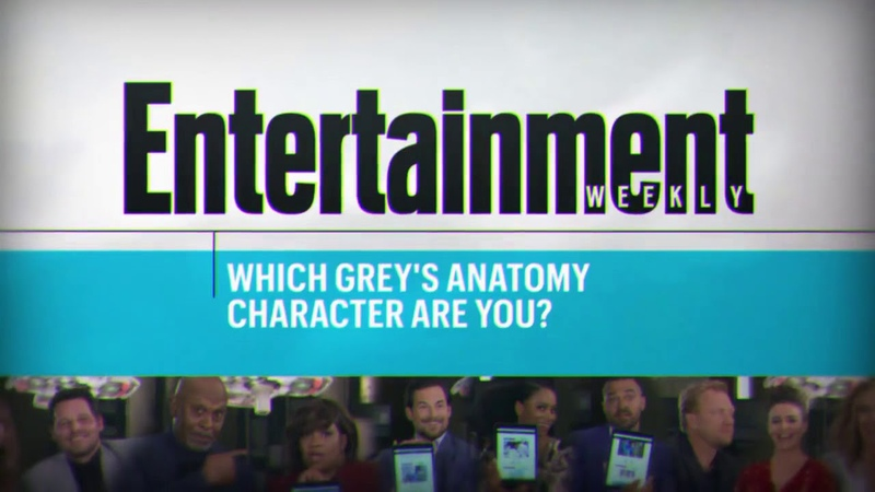 The Grey's Cast Takes a Quiz to See Which Grey's Character They Are