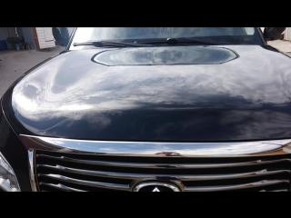 Полировка кузова и фар Infiniti Qx 56 + керамическое покрытие Gyeon