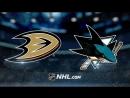 NHL Preseason 2018 Sharks vs Ducks 21.09.2018