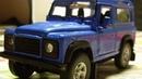Обзор на Land Rover Defender Масштабная модель от Welly