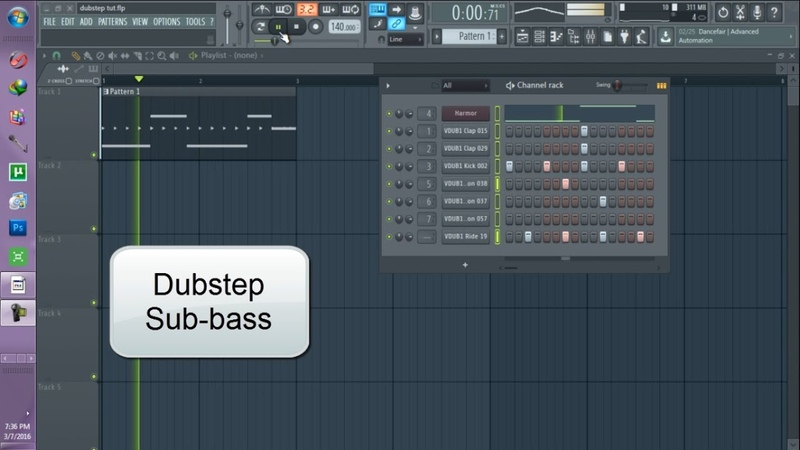 How I make Dubstep Hip-hop/Trap sub-bass on Harmor (Watch me tutorial) (Fl Studio 12)
