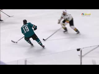 GOTTA SEE IT_ Joe Thornton Scores Ridiculous No-Look Shot From Way Out