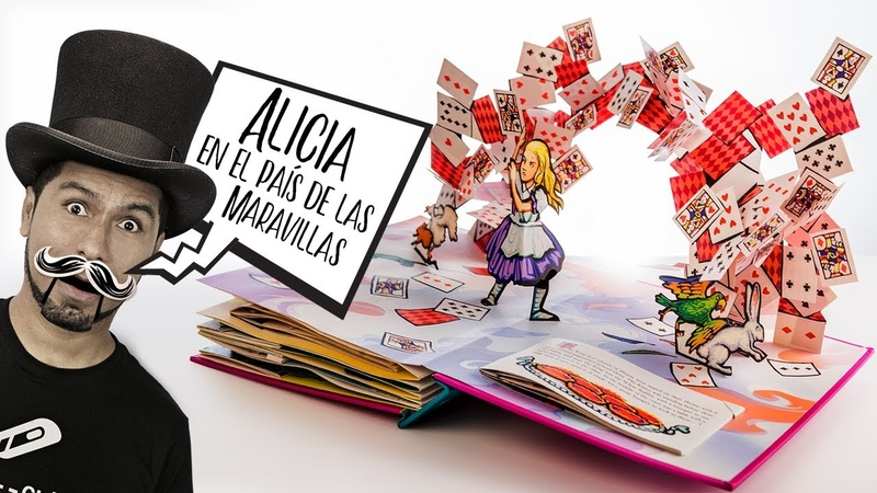 Alicia en el País de las Maravillas Libro Pop-Up