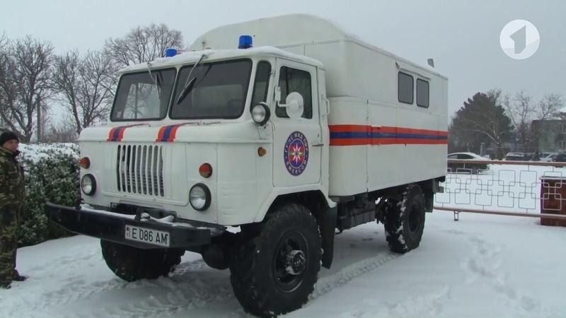 Спасение из снежного плена работа передвижных пунктов обогрева
