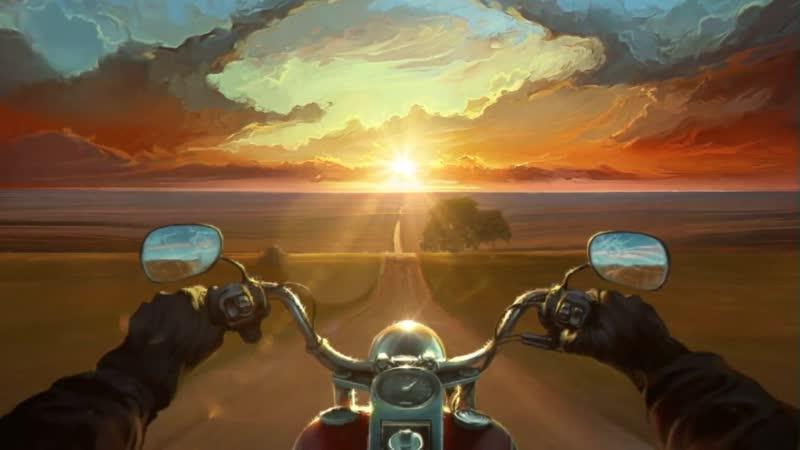 Дорога в Закат Land Of The Wind Painting to 3d Видео для Залипания