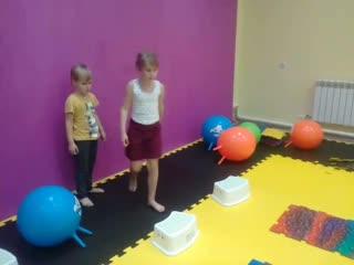 Свободная игра в студии детской физкультуры La FK, г.Дивногорск
