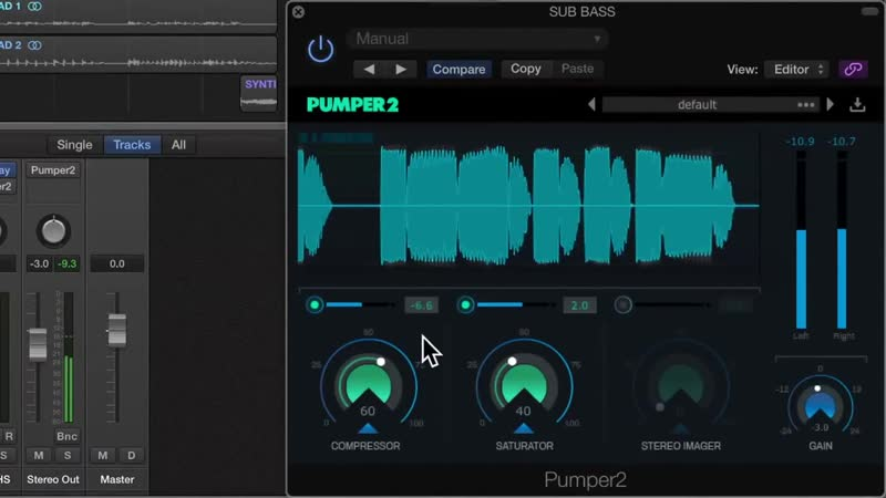 Pumper 2 ★ 3 in 1 ★ audio plugin ★ vst ★ vst 3 ★ au ★ harder better stronger
