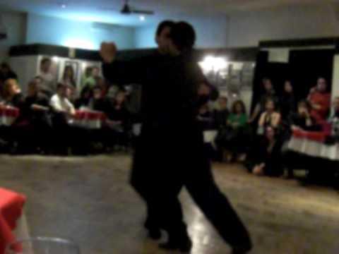 Mariano Olman and Juan Manuel Rosales male tango