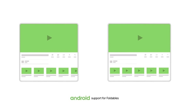 Android Foldables by Google