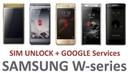 SAMSUNG W2015/2016/2017/2018/2019/Leader 8 SIM/3G/4G unkock
