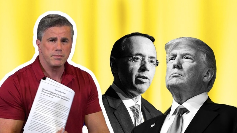 Tom Fitton Did Rod Rosenstein Want to Remove Trump Deep State Active in Resisting President