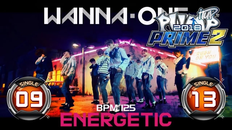 Energetic 에너제틱 S9 S13 PUMP IT UP PRIME 2 2018 Patch 2 0