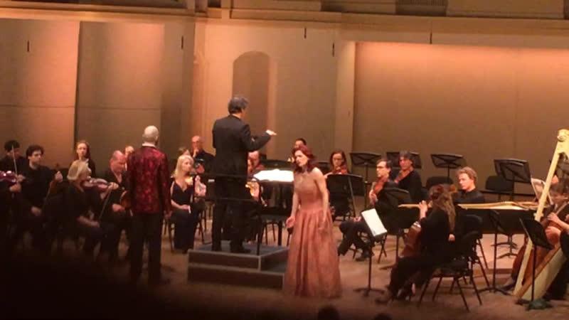 Lascia chio pianga-Rinaldo (1711) 23.04.2019. Ринальдо. 🎼Handel КОНЦЕРТНЫЙ зал ЧАЙКОВСКОГО Tchaikovsky Concert Hall