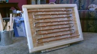 DIY Solar Thermal Water Heater! - COPPER PIPE Solar Water Heater! - Easy DIY (full Instr.) 150F+