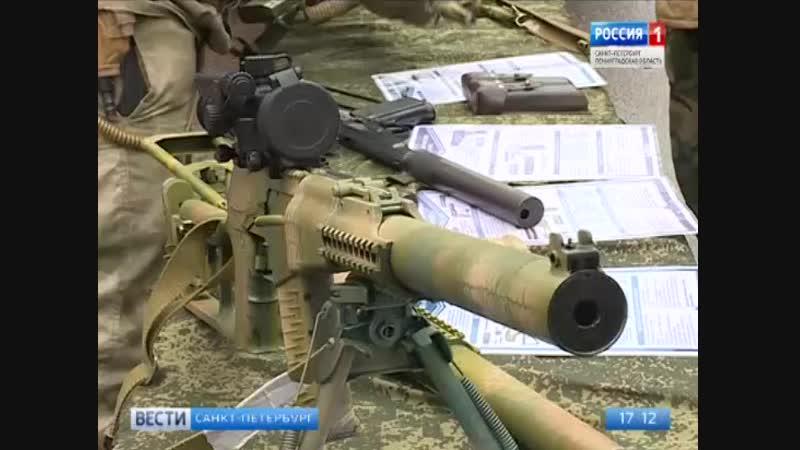 Столетие военной разведки отметили в Усть Ижоре