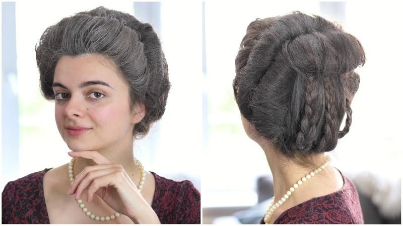 18th Century Hair Tutorial   Coiffure Banane