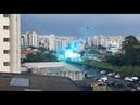 Grave acidente na linha de alta tensão em São Paulo