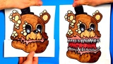 CREATE YOUR FNAF ANIMATRONICS - 10 COOL Five Nights at Freddy's DIY IDEA - CHALLENGE You cant hide