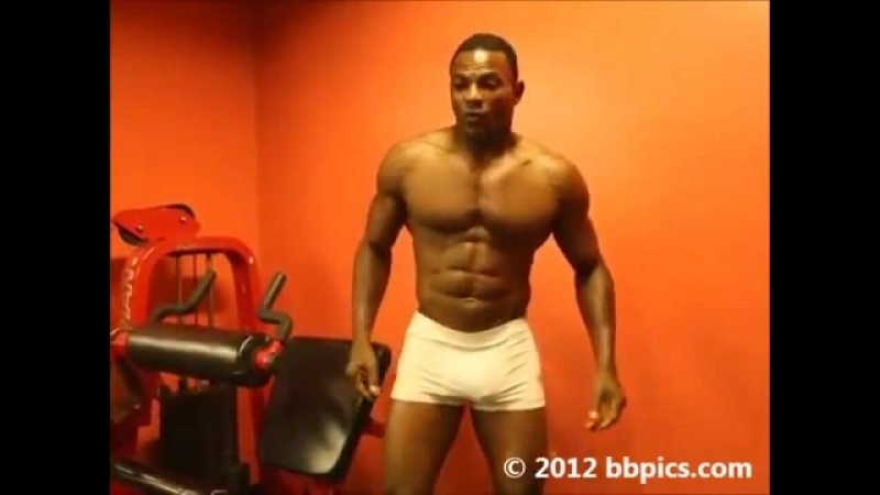 Presents- Gym Bodybuilding-Physique Poses w-IFBB Pro-Fitness Model- MICHAEL FERGUSON