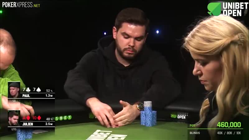 When you hit the PERFECT FLOP with a pocket pair!