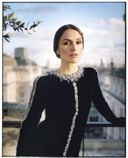 Кира Найтли Harper's Bazaar, 2018
